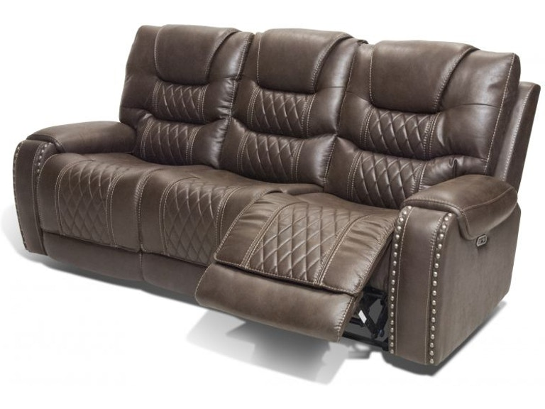 Corinthian Living Room Gazelle Power Reclining Headrest Sofa