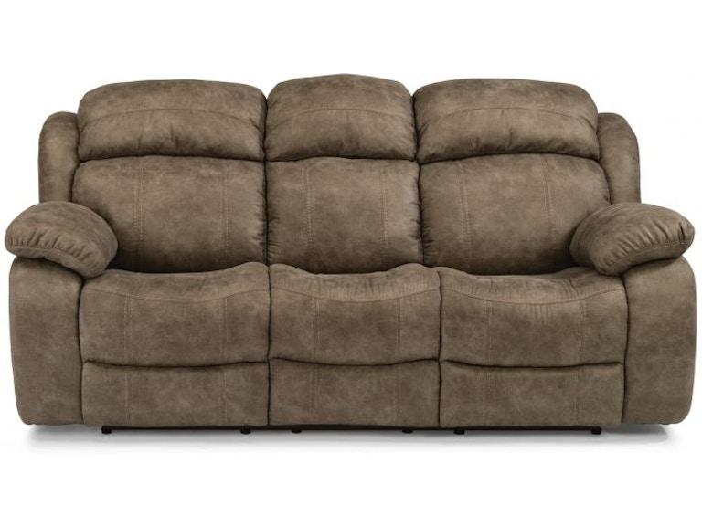 Flexsteel Reclining Sofas With Power Headrest Baci