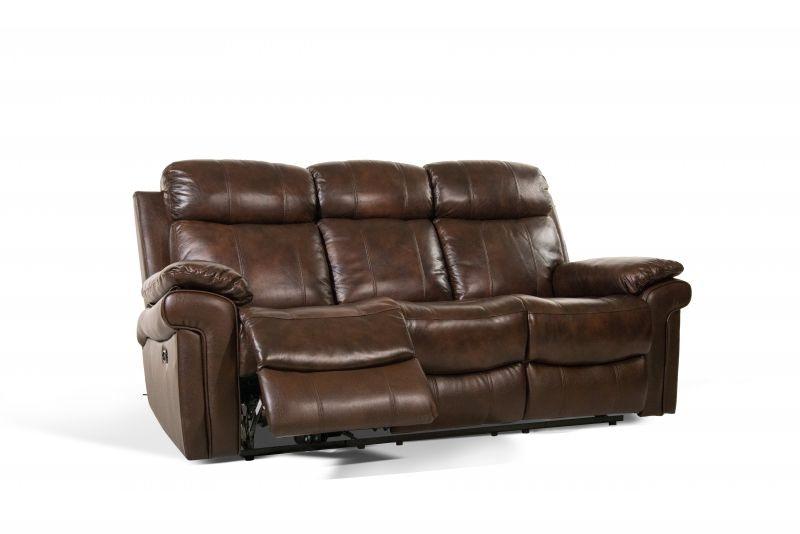 Leather Italia Joplin Power Reclining Leather Sofa MOT SOFA JOPLIN