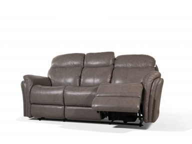 Kim Power Headrest Leather Reclining Sofa