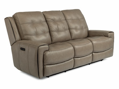 Lucas Leather Power Headrest Reclining Sofa