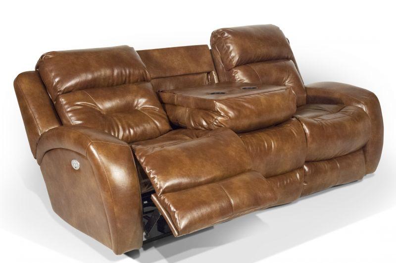 Showcase Power Headrest, Reclining Sofa