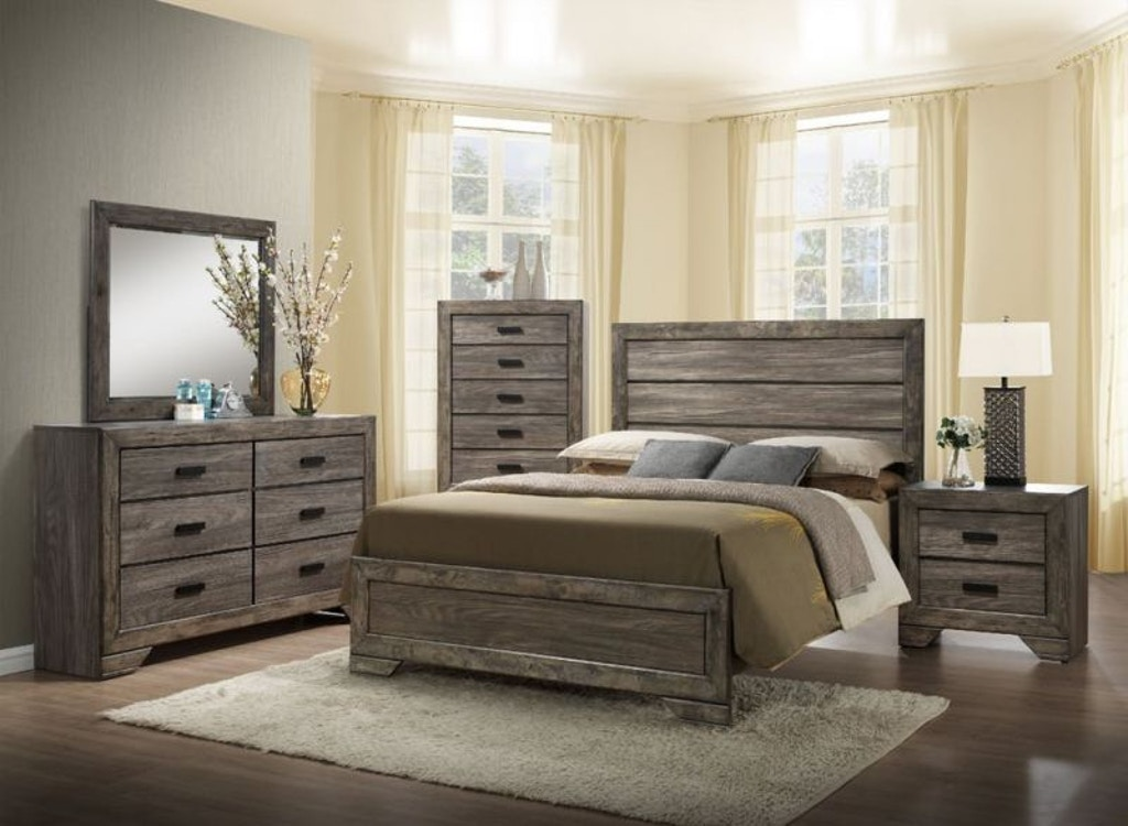 Nathan King Bedroom Set Chest Free