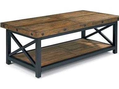 Flexsteel Living Room Carpenter Cocktail Table