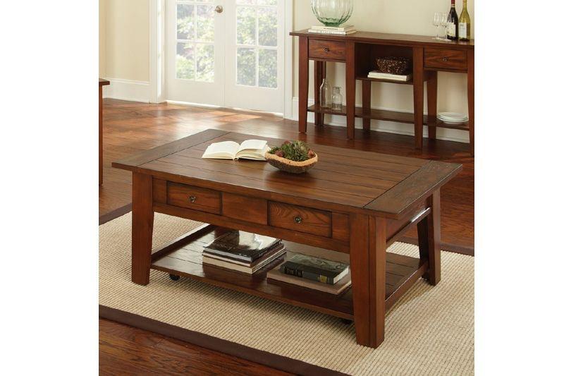Steve Silver Living Room Desoto Sofa Table OCC-SOTB-DESOTO ...