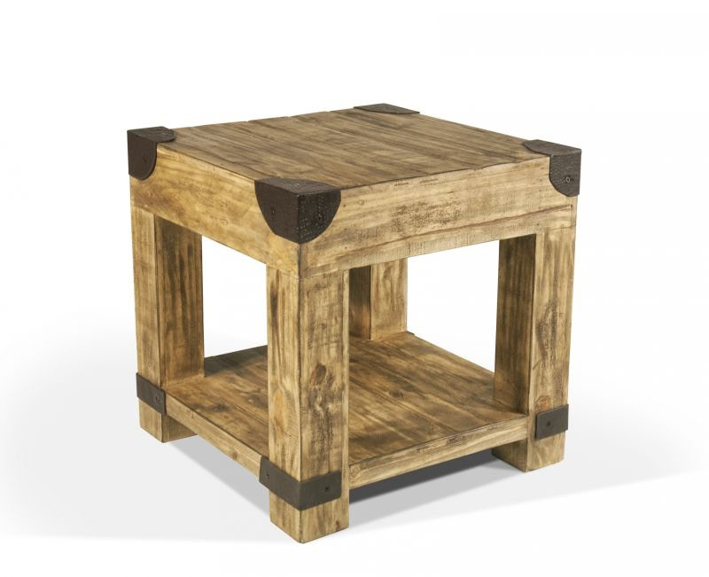 railway end table