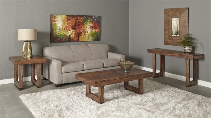 Charmant Brownstone Sofa Table