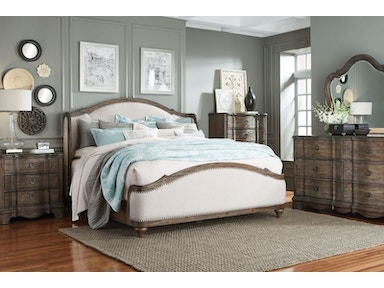 Parliament Queen Bedroom Set, Bedding Free