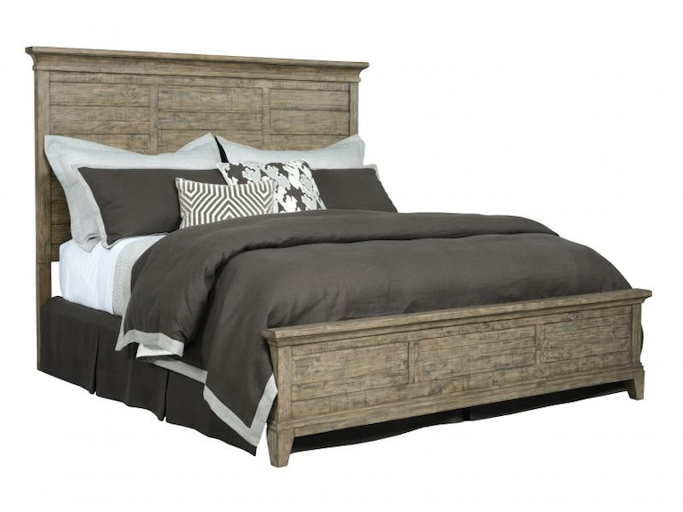 Kincaid Furniture Bedroom Plank Road Stone Queen Bed