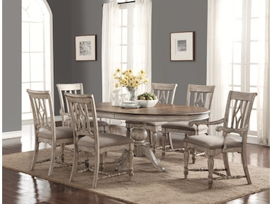 Plymouth Round Table And 4 Side Chairs