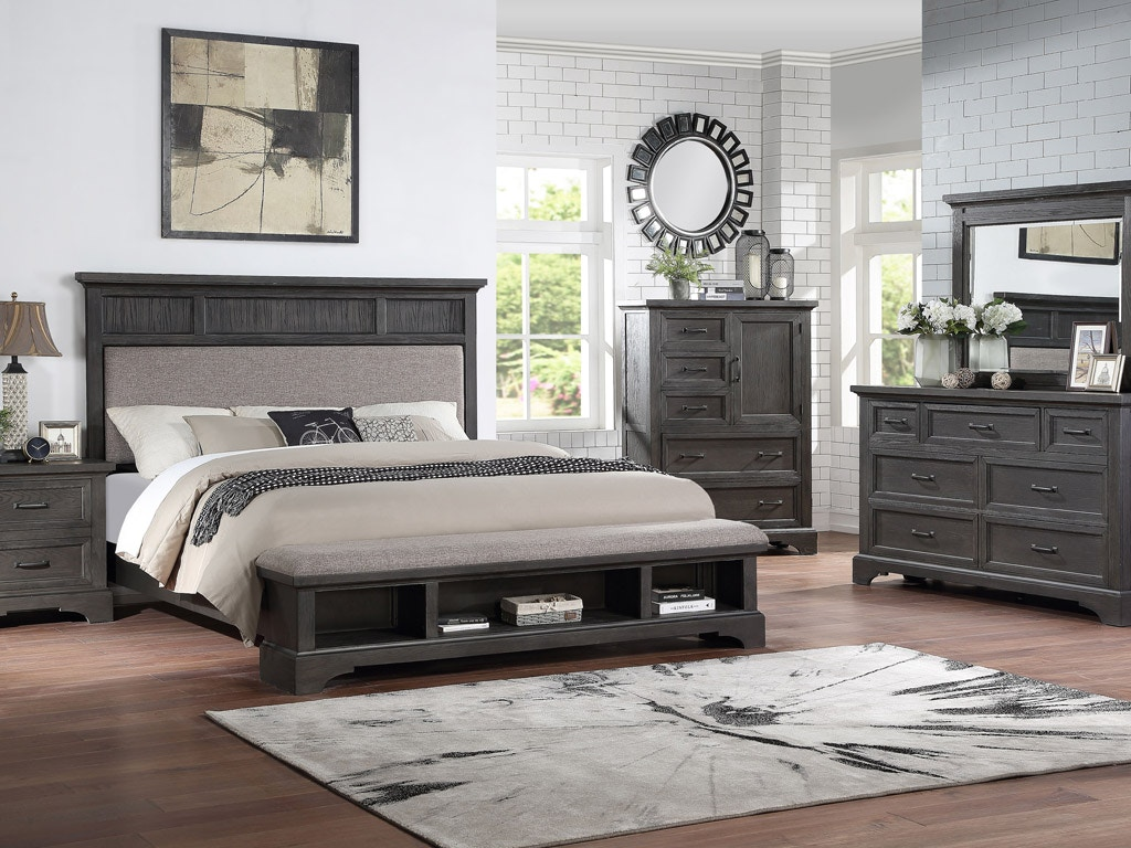 Prescott Queen Bedroom Set, Queen Mattress FREE