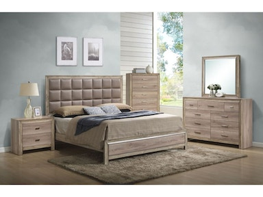 Reno King Bedroom Set, Chest Free