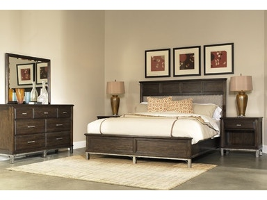 Richmond King Bed, Dresser, Mirror and Nightstand