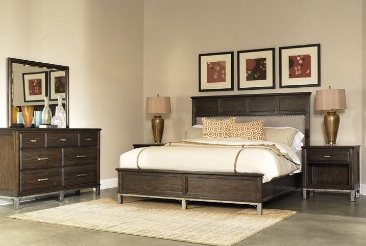 Richmond King Set, Two Nightstands FREE