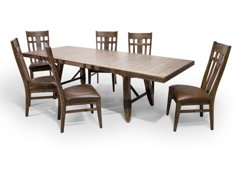 Craft Designs Dining Room River Dining Table Chairs Extra FREE - Coffee table with 4 chairs