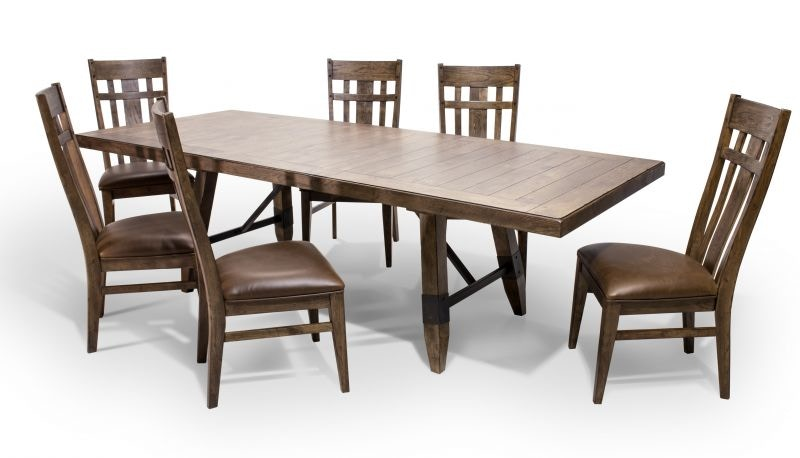 Delicieux River Dining Table, 4 Chairs, 2 Extra FREE