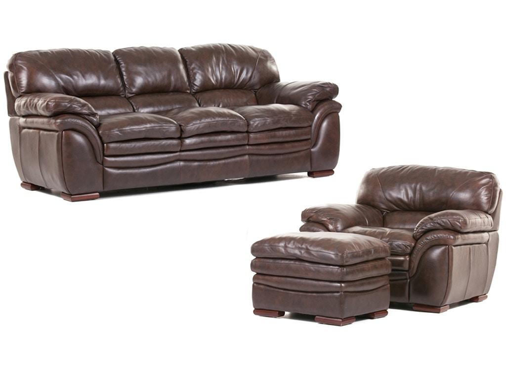 Futura Santa Cruz Leather Sofa Chair and Ottoman 56SANTACRUZ  sc 1 st  Bob Mills Furniture & Futura Living Room Santa Cruz Leather Sofa Chair and Ottoman islam-shia.org