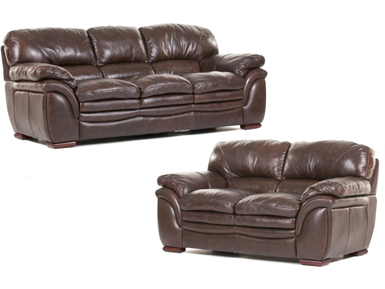 Futura Santa Cruz Leather Loveseat