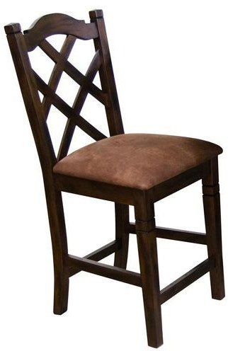 Sunny Designs Dining Room Santa Fe Dining GroupFour chairs Bench