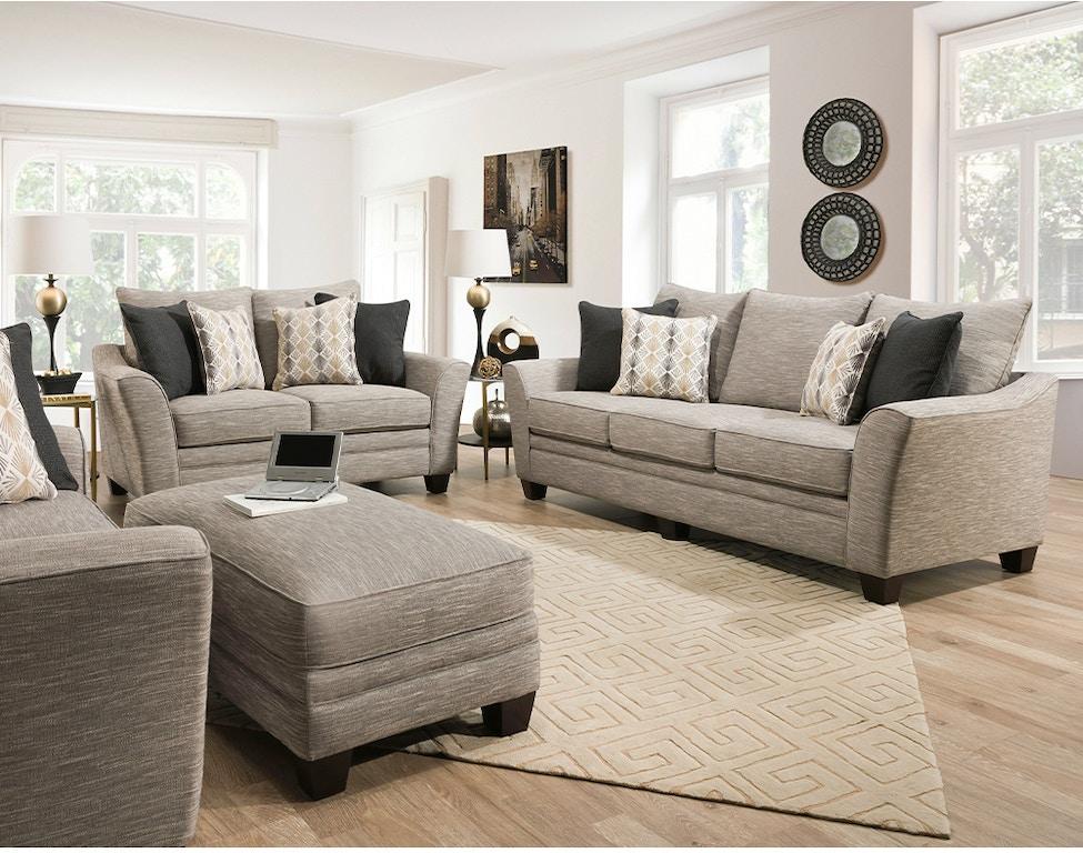 Saylor Sofa, Chair and Ottoman