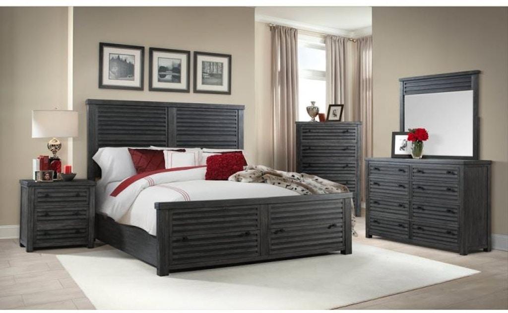 Shelter Bay Queen Bedroom Set, Mattress FREE