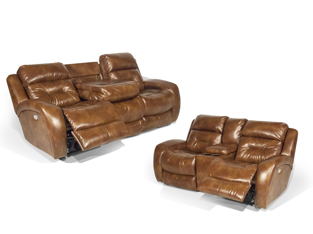 showcase power reclining set