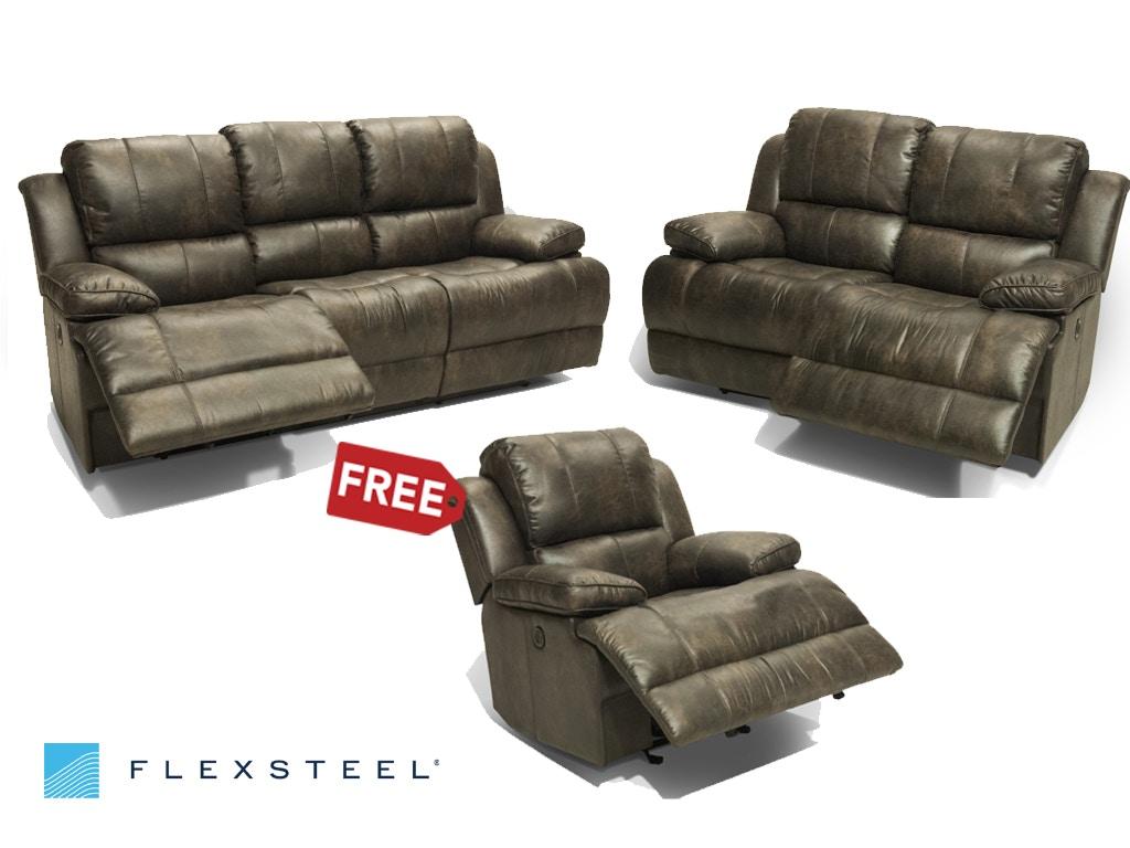 Simon Power Sofa And Loveseat, Recliner FREE
