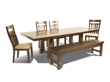 Sunny Dining Set, Bench and Server FREE