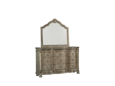 Swank Dresser and Mirror