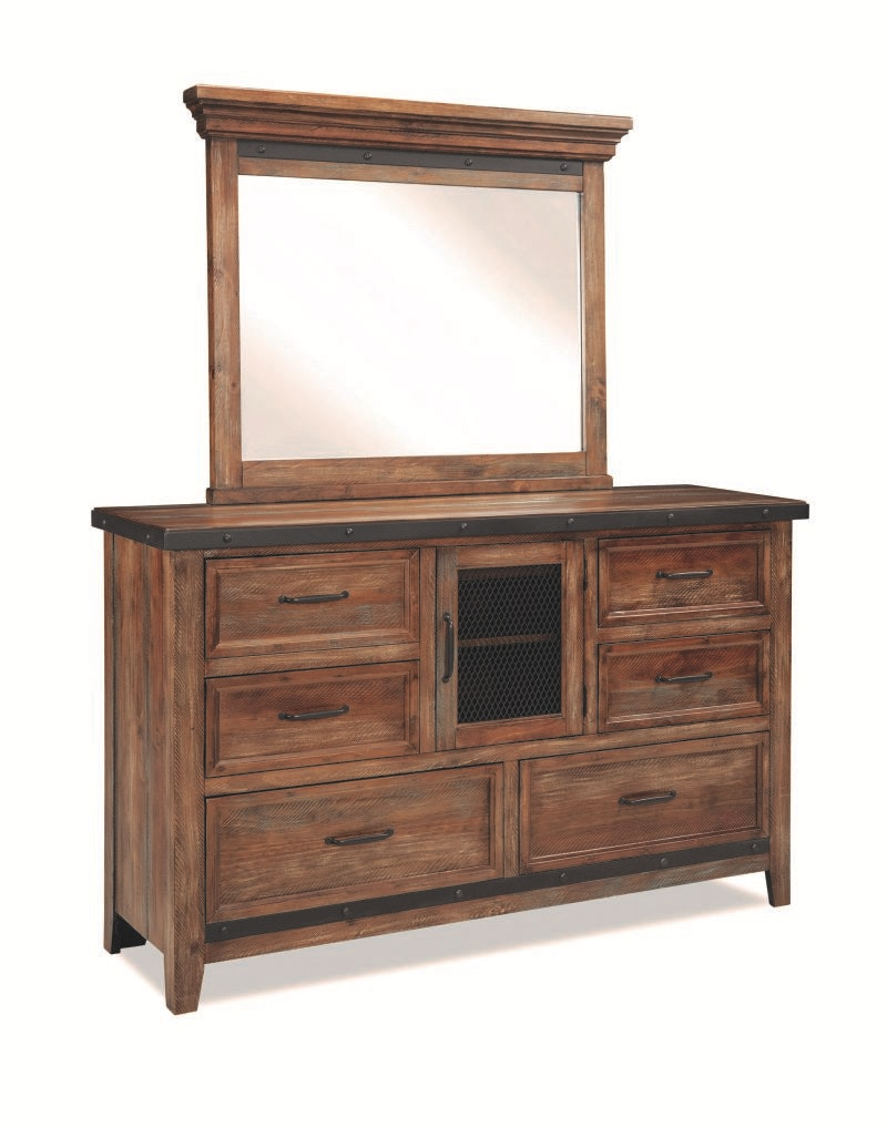 Craft Designs Taos Dresser And Mirror