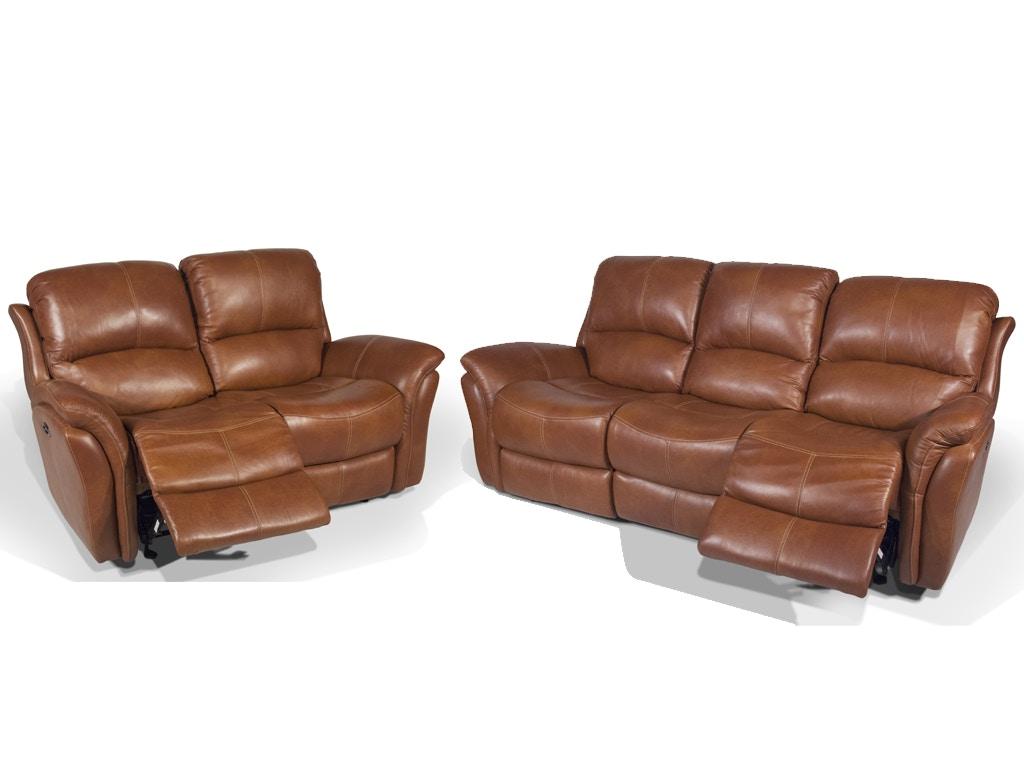 Tia Power Headrest, Reclining Set, 55u0026#34 TV FREE