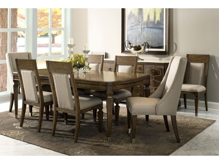Fairmont Designs Dining Room Traveler Dining Table, 4 Chairs, 2 FREE