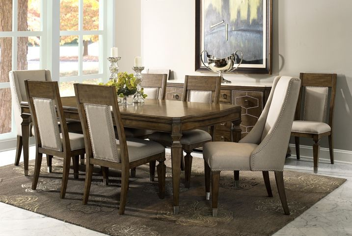Dining Room 6 Chairs Part - 34: Fairmont Designs Traveler Table, 6 Chairs, Wine Bar FREE