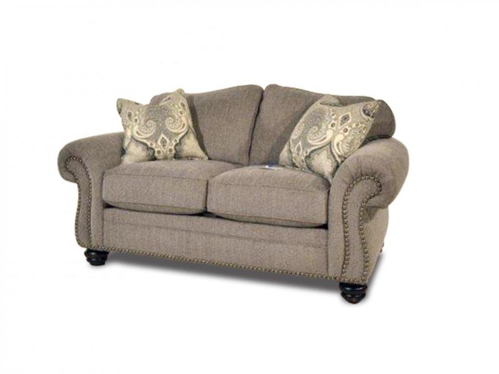 Flexsteel Living Room Brooklyn Sofa And Loveseat