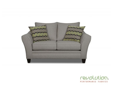 Delaney Gray Loveseat