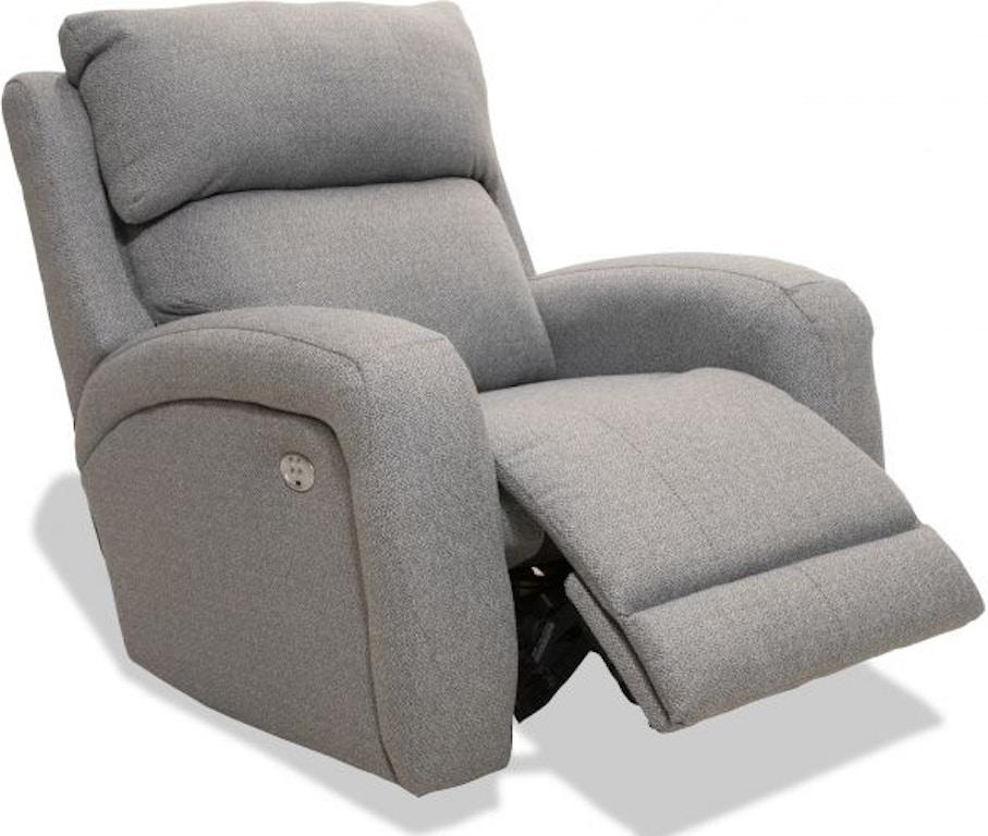Awe Inspiring Dawson Graphite Power Rocker Recliner Dailytribune Chair Design For Home Dailytribuneorg