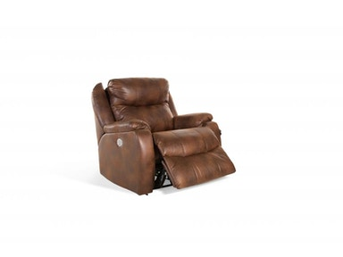 Oliver Walnut Power Recliner, with Power Headrest