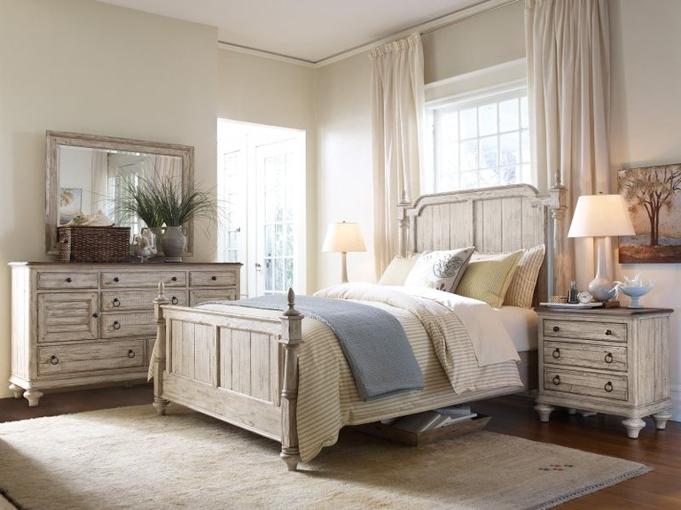 Kincaid Furniture Weatherford King Bedroom Set Weatherking