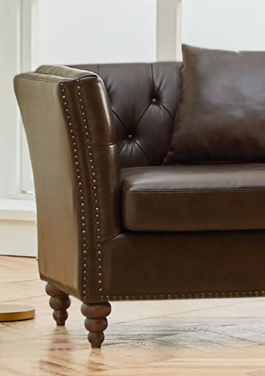 Wellington Westerly Chocolate Accent Chair ACCENT ACHR WESTCHOC