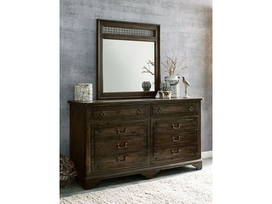 Wildfire Dresser and Mirror