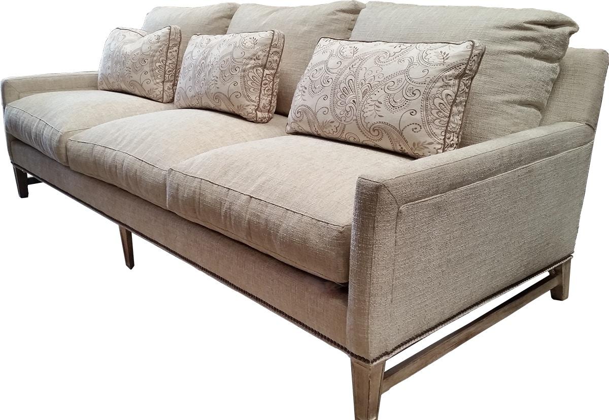 Peachy Lillian August For Hickory White Living Room Sofa La7105S Machost Co Dining Chair Design Ideas Machostcouk