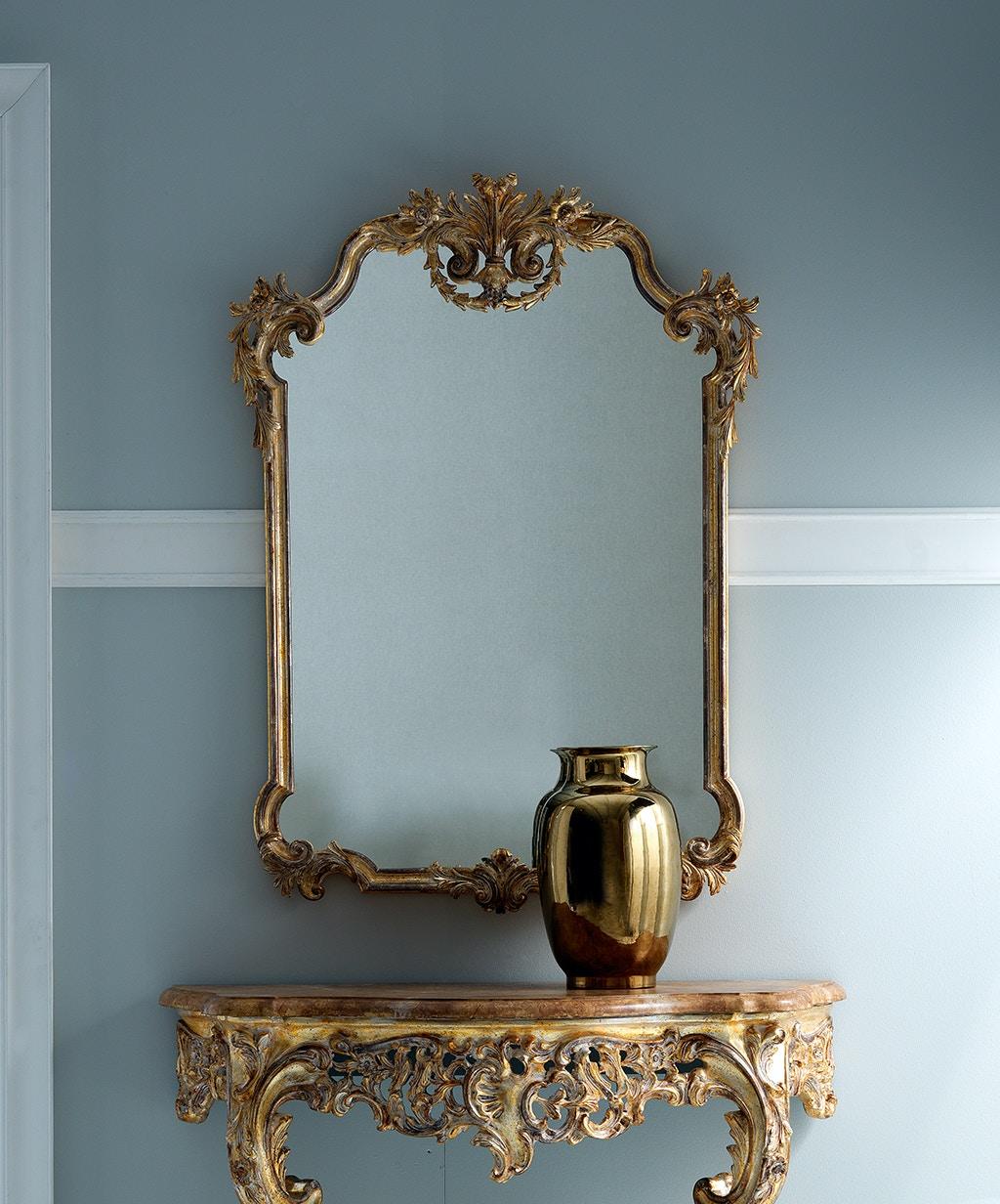 Von Hemert Interiors Italian Imports Mfr: XI21 Mirror #3675