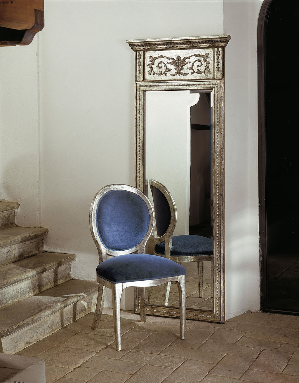 Von Hemert Interiors Italian Imports Mfr: XI64 Mirror #9402B