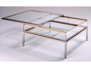 von Hemert Interiors Italian Imports Mfr: XI81 Cocktail table #PIU-2