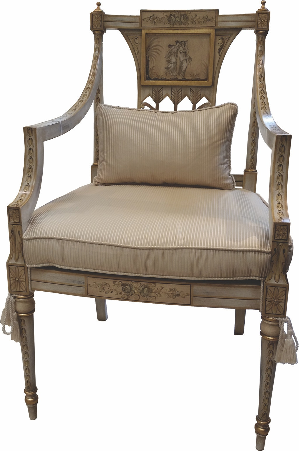 Von Hemert Interiors Italian Imports Mfr: XI29 Arm Chair #1645 P 2