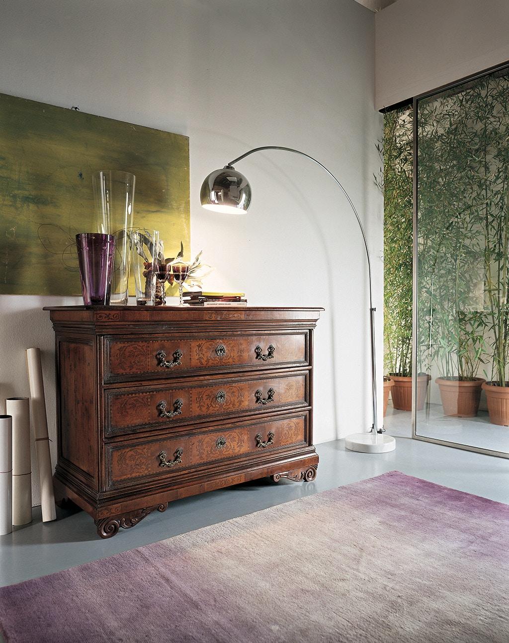 Beautiful Von Hemert Interiors Italian Imports Mfr: XI45 Chest #830