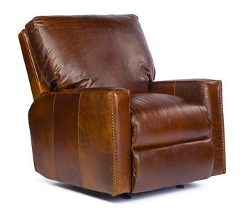 Julianau0027s Private Collection Living Room USA Premium Leather 9355 Rocker  Recliner W/ Track Arms 9355