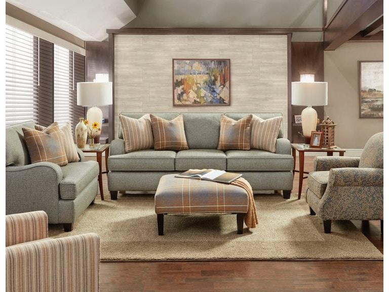 Fusion Living Room Sofa Brewhouse Metal 854165 At Furnitureland