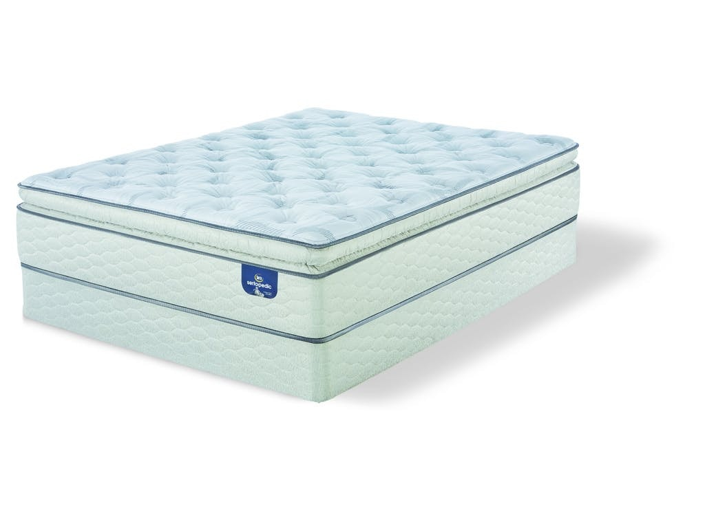 Sertapedic By Serta Mattresses Alverson Super Pillow Top Plush Full