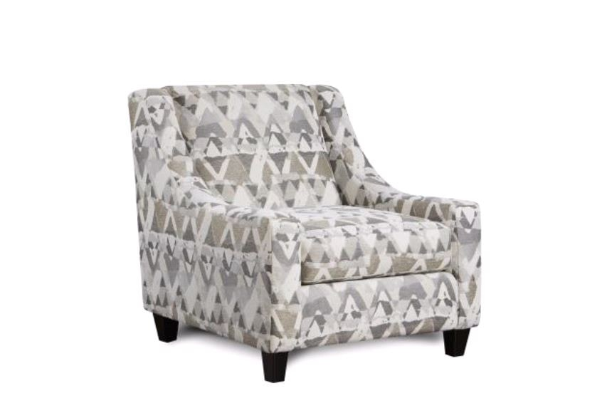 Fusion Living Room Accent Chair, Mountain View Cement 806906 At  FurnitureLand